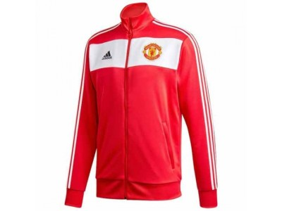 Manchester United 3-Stripe Track Jacket 2020/21