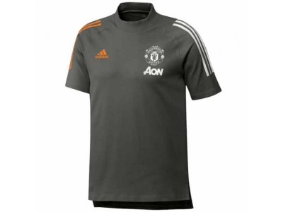 Manchester United Green Training T-Shirt 2020/21
