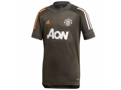 Manchester United Kids Green Training Jersey 2020/21