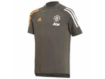 Manchester United Kids Green T-Shirt 2020/21