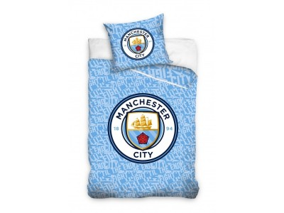 Manchester City duvet set - glow in the dark