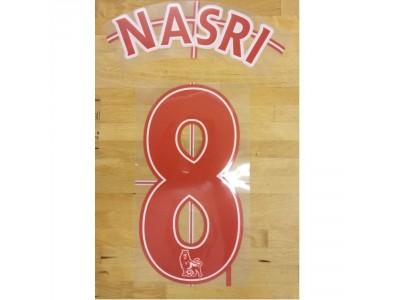 Premier League printing 2007/13 R/W - NASRI 8