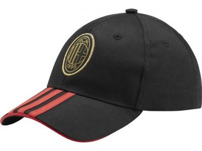 AC Milan cap - black - red - gold
