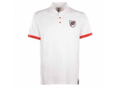 River Plate White Polo Shirt