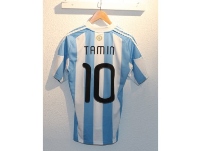 Argentina home jersey 2010 - Tamin 10