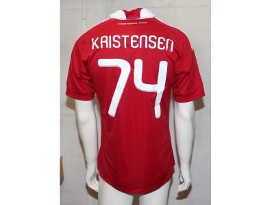 Denmark home jersey 2009/11 - Kristensen 74