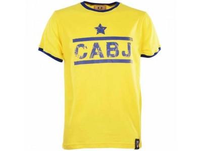 Cabj T-Shirt - Yellow/Royal Ringer