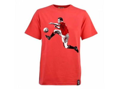 Miniboro Cantona T-Shirt- Red