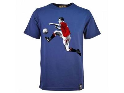 Miniboro Cantona T-Shirt - Navy