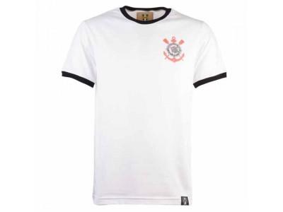 Corinthians Paulista 12Th Mant-Shirt - White/Black Ringer