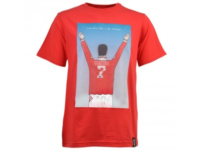 Man United -  I AM CANTONA T-SHIRT - RED