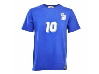 Italy 10 & 12th Man T-Shirt - Royal