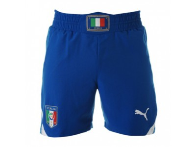 Italy away shorts 2010 - blue