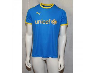 Puma Liga jersey blue - sponsor logo Unicef
