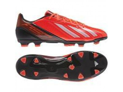 F10 FG Cleats - Infrared, Black, Men's