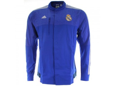 Real Madrid Anthem Jacket 2014/15 - Blue, Men's