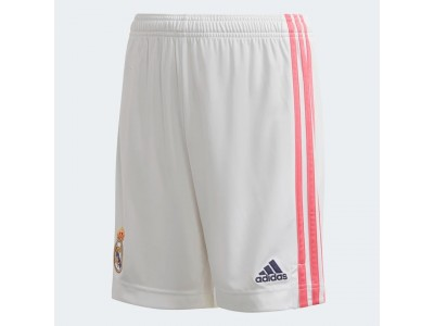 Real Madrid home shorts 2020/21 - youth