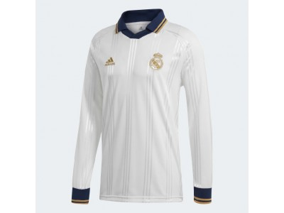 Real Madrid icons retro jersey - white