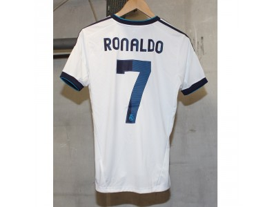 Real Madrid Home Jersey 2012/13 - Youth, RONALDO 7