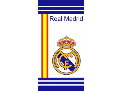 Real Madrid towel - white-blue