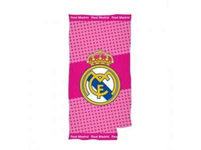 Реал Мадрид Полотенце - розовое