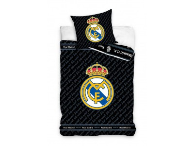 Real Madrid duvet set - black