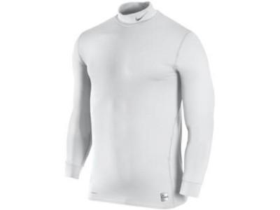 pro combat therma mock top - white