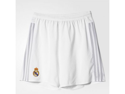 Real Madrid Home Shorts 2015/16 - Youth