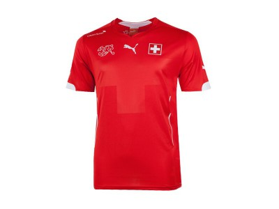 Switzerland Home Jersey 2014 World Cup