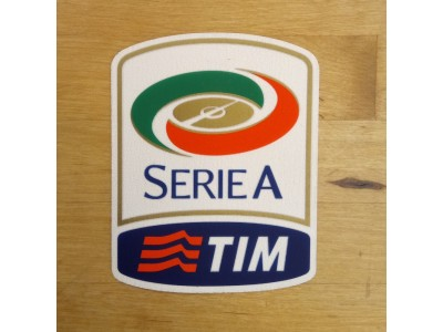 Serie A Sleeve Badge 2010-2016 - adult