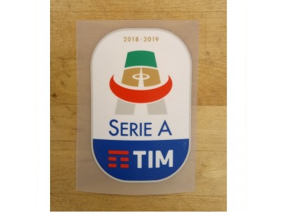 Serie A Sleeve Badge 2018-2019 - adult