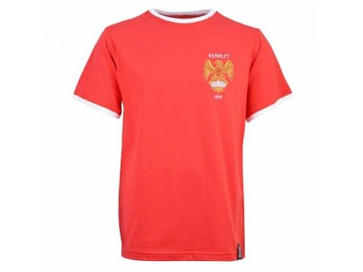 Manchester United 1958 12th Man T-Shirt - Red/White Ringer