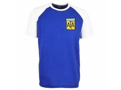 Argentina Away Raglan Sleeve Royal/White T-Shirt