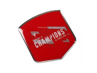 Liverpool Champions of Europe 2019 Badge