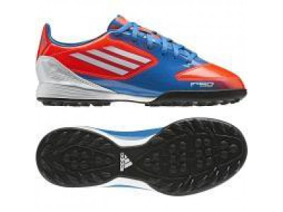 F10 TF Cleats - Red, Blue, Youth