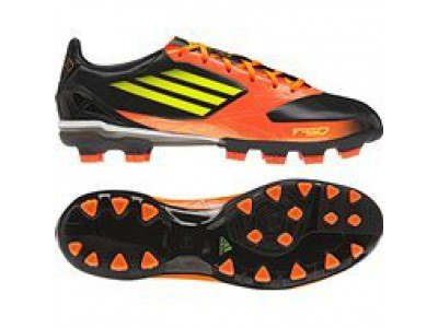 Adidas F10 TRX AG David Villa soccer boots - black