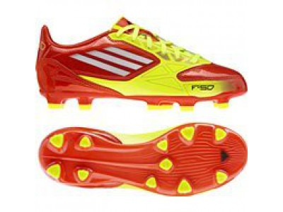 F10 FG Messi firm ground boots - youth - red