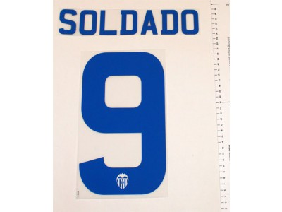 Valencia away printing 2012/13 - Soldado 9