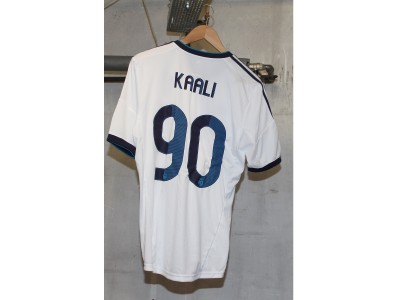 Real Madrid home jersey 2012/13 Custom name Kaali 90