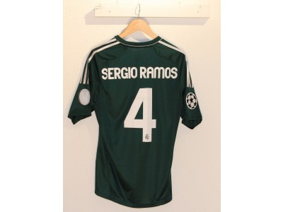Real Madrid UCL away jersey 2012/13 - Sergio Ramos 4