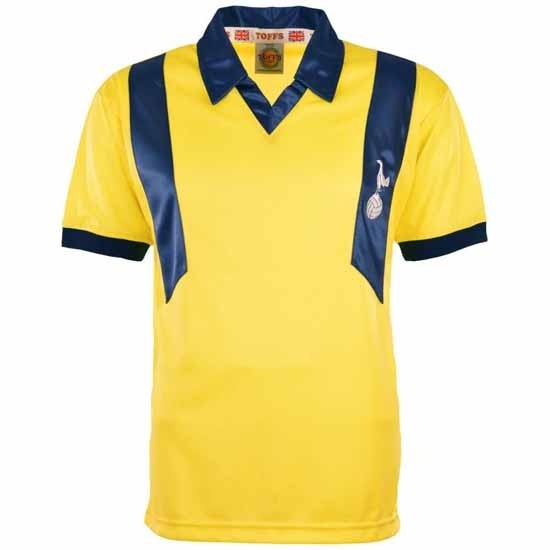 Tottenham Hotspur 1977 80 Away Retro Football Shirt