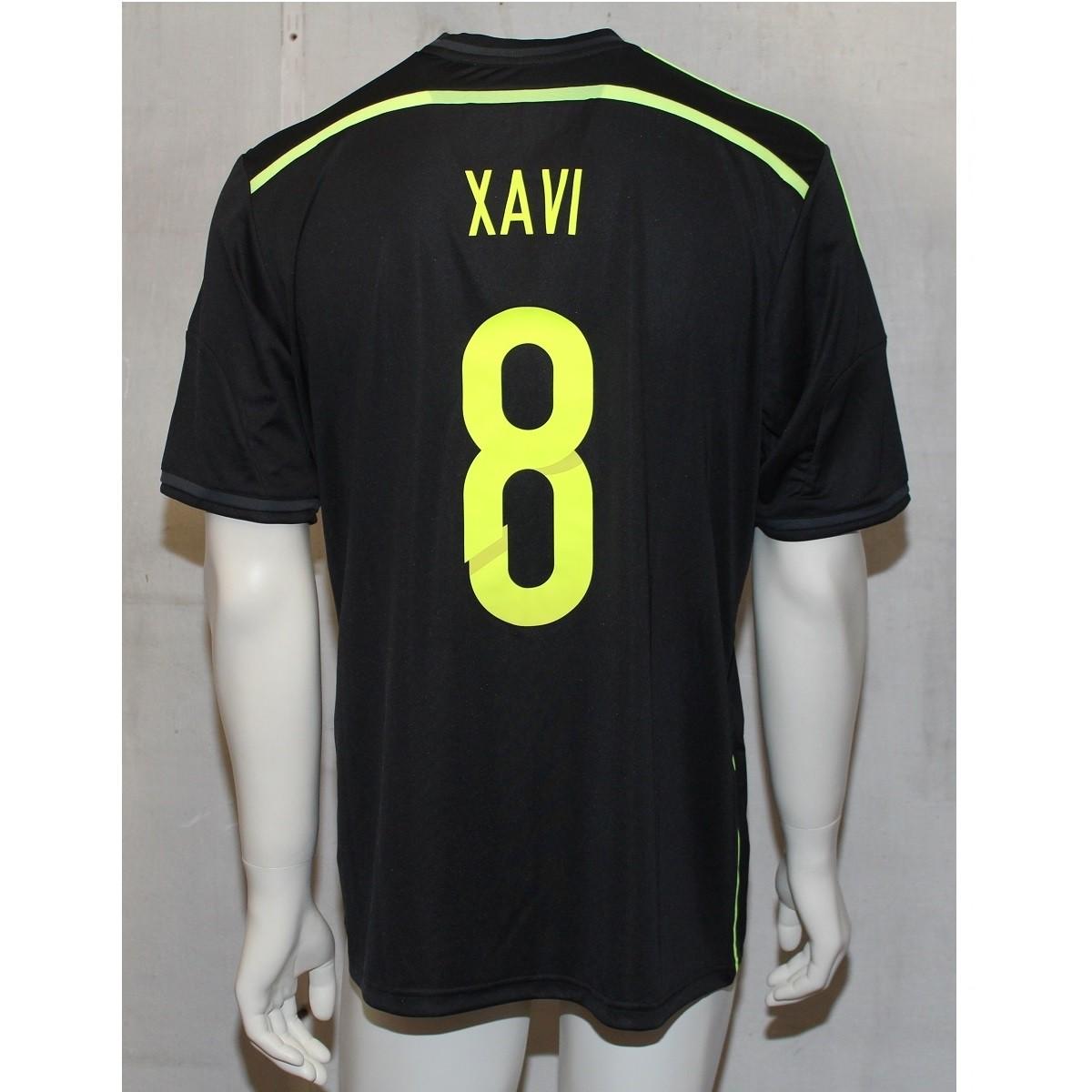 Spain away jersey 2014 - men's - Xavi 8