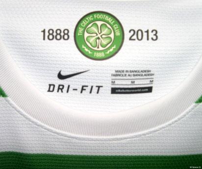 Celtic jersey collar