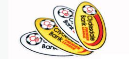 Celtic jersey Scottish League patches