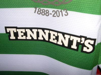 Celtic sponsor badge