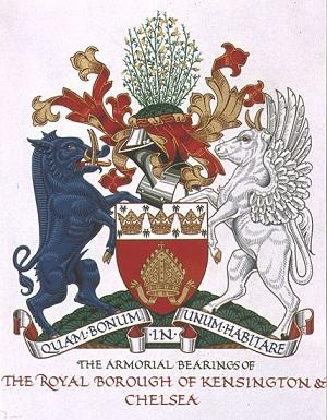 Chelsea Kensington coat of arms