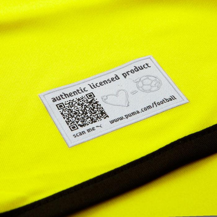 Dortmund authenticity label