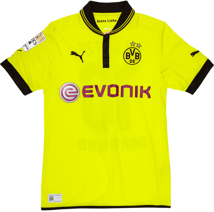 Dortmund home jersey including printing