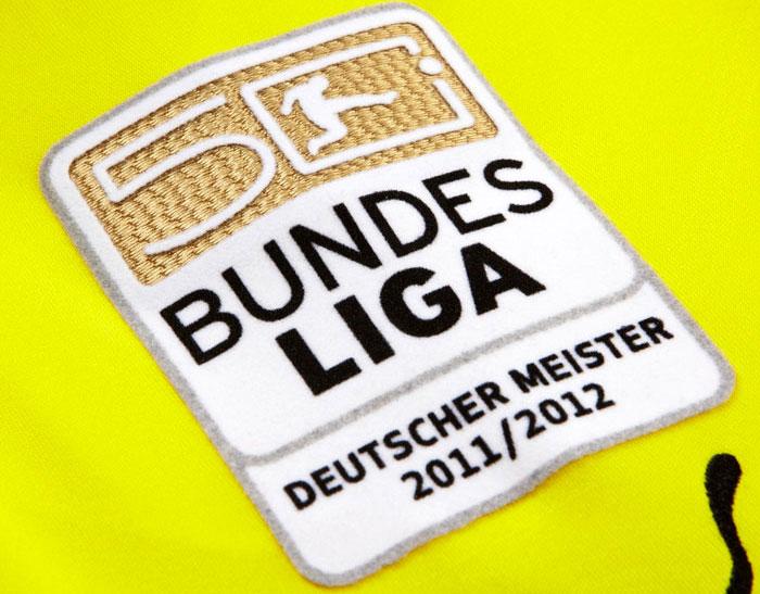 Official Bundesliga sleeve badge