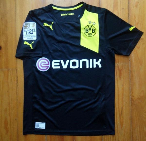 Dortmund away jersey 12-13